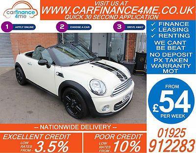 eBay: 2012 MINI ROADSTER 1.6 COOPER GOOD / BAD CREDIT CAR FINANCE FROM 54 P/WK #minicooper #mini