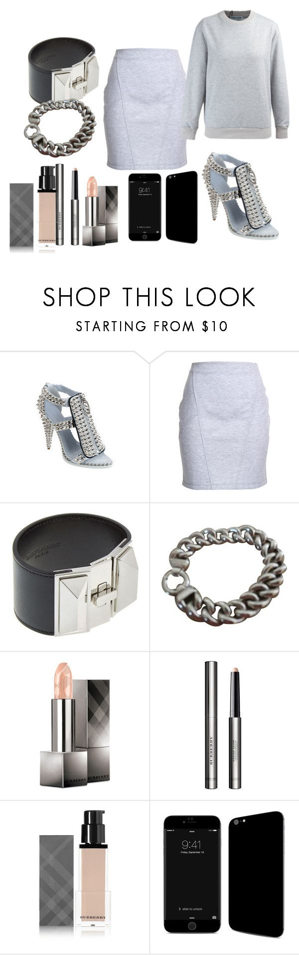 """""""CHRISTINE CENTENERA PARIS STYLE"""" by iamamaven on Polyvore featuring Givenchy, Yves Saint Laurent, Milor and Burberry"""