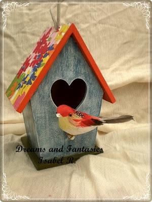 Dreams & Fantasies: Casas de pajaros