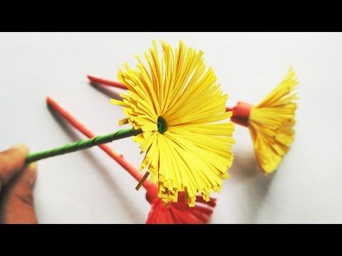 8 best origami flower paper craft tutorial images on pinterest how to make amazing simple yellow origami flower diy craft mightylinksfo