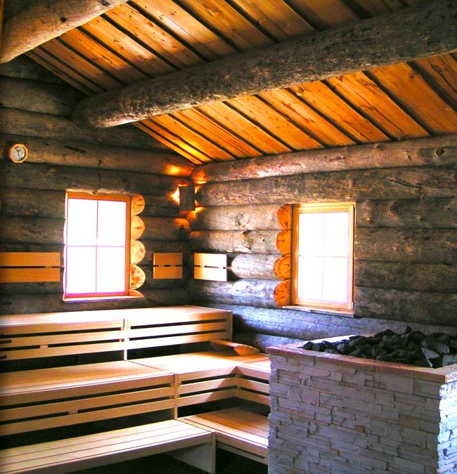 Dream rennovation for our sauna