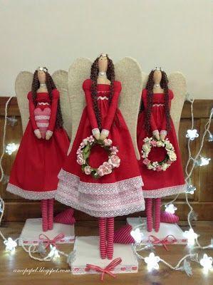 Delightful Tilda Angels.