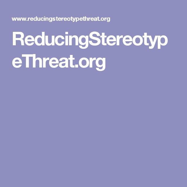 ReducingStereotypeThreat.org