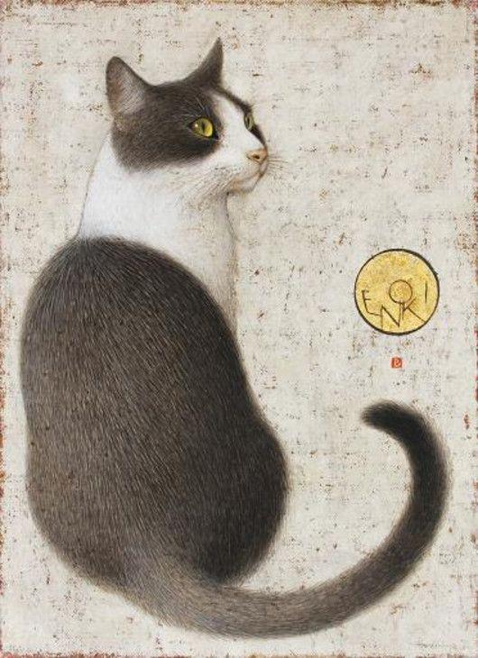 handsome cat | byToshiyuki Enoki