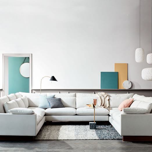 1000 ideas about u shaped sectional on pinterest u - Used living room furniture toronto ...