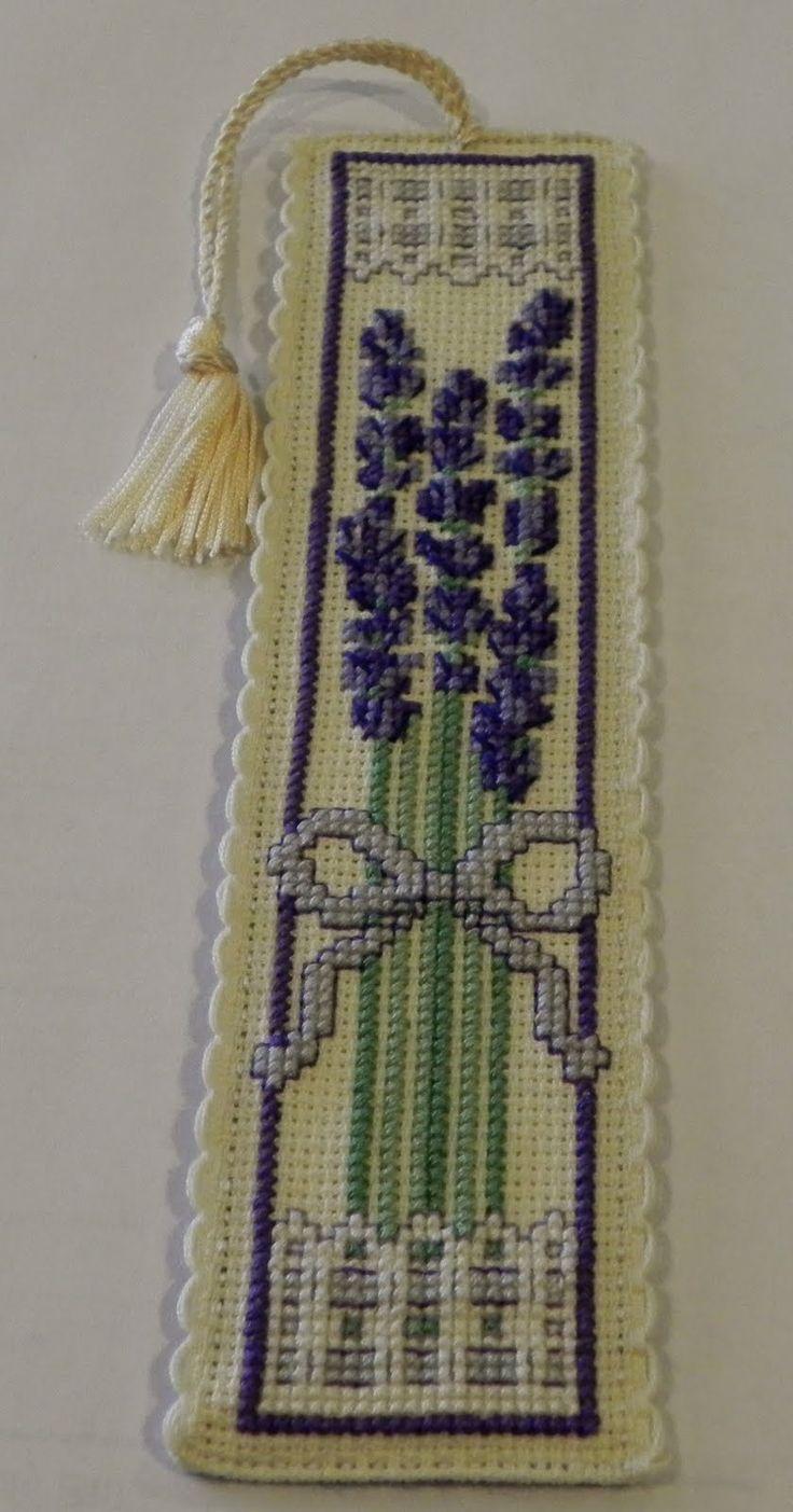 Seams Sew Creative: Cross stitch bookmark