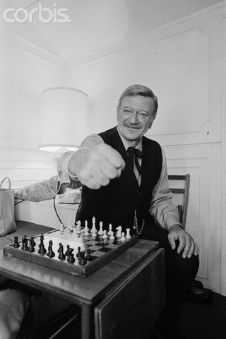 "John Wayne on set of ""The Shootist"" 1976."