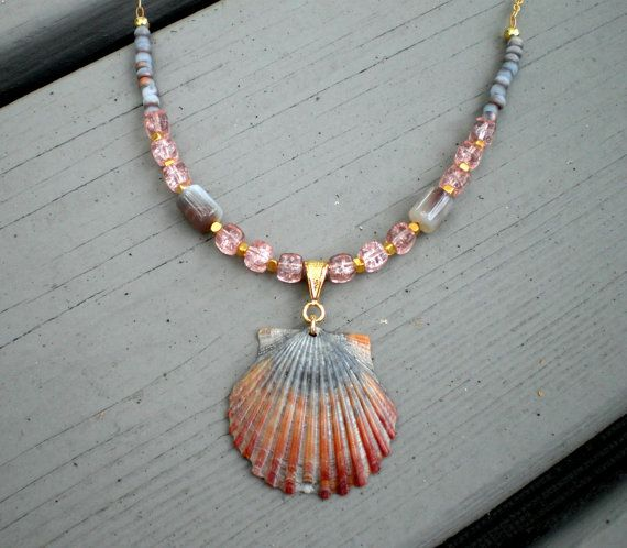 106 best JEWELRY Shells images on Pinterest Shells Seashell