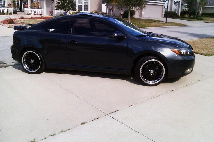Scion tC Hatchback Black Color