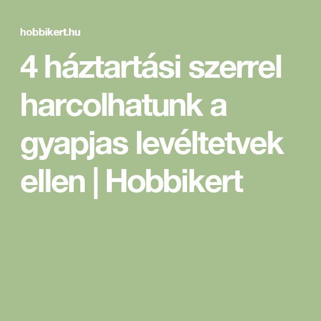 4 háztartási szerrel harcolhatunk a gyapjas levéltetvek ellen   Hobbikert