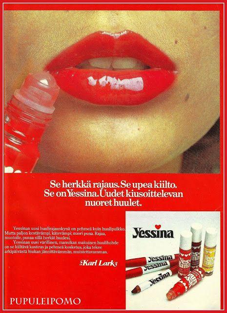 Muoti + Kauneus 70-luvulta - Yessina