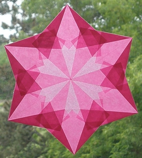 6 Pointed Waldorf Window Star