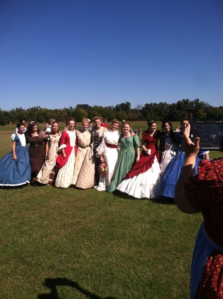 Old Fashioned Day Dresses