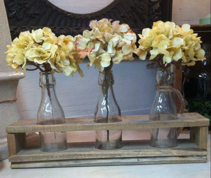 Ideas about farmhouse table centerpieces on