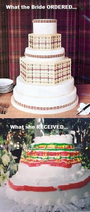 Cake Wreck  cracks me up every time I see it!