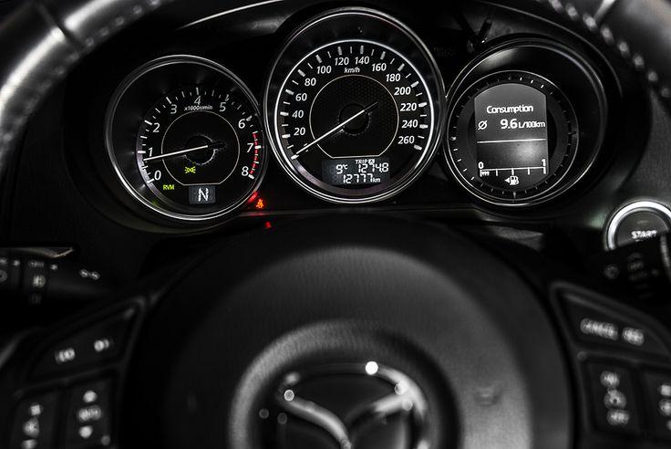 New Mazda 6 instrument dial by premiumMoto.pl #mazda #instrument #6