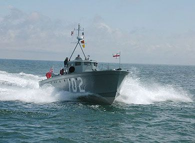 British Military Powerboat Trust, Coastal Forces, Gunboats, Target ...