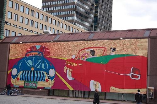 Honk City by Pushwagner, Oslo S