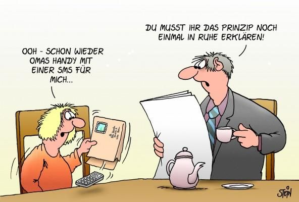 Uli Stein — Cartoons Fotografie | CARTOONS - ulistein.de / ja ja, Technik, die begeistert :-)))