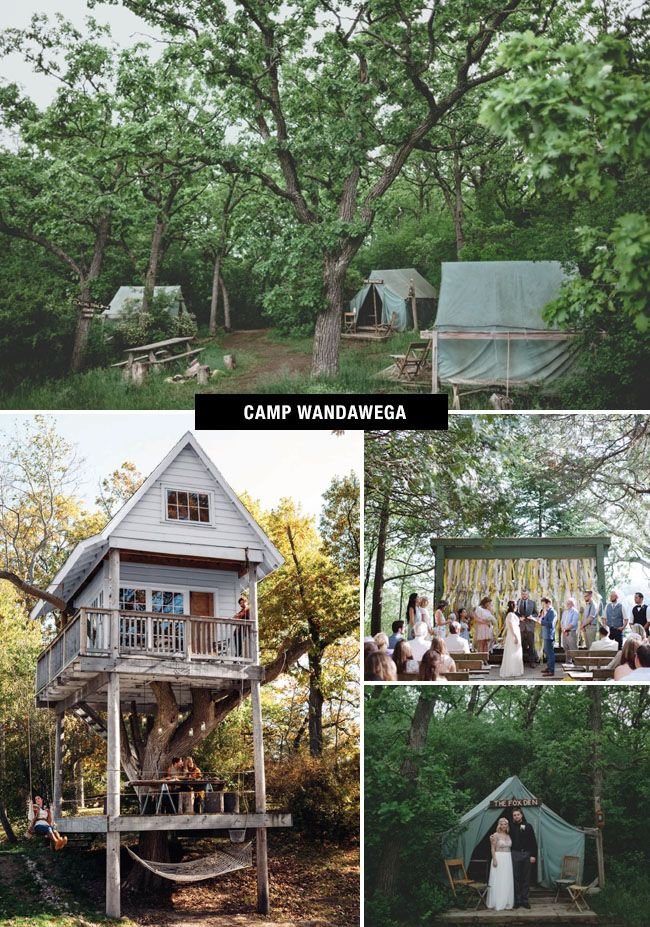 Camp Wandawega Wedding | Coolest Wedding Venues in the US