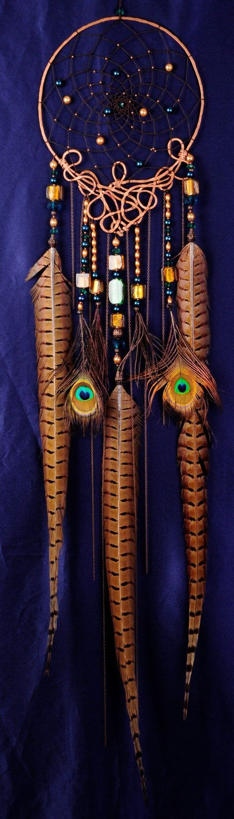 SOLD Custom-made for 4-5 days Dreamcatcher IZIDA Copper gift idea Dream Catcher Dream сatcher dreamcatchers boho dreamcatchers wall decor handmade decoration idea gift This amulet like Dreamcatcher - is not just a decoration of the interior. It is a powerful amulet, which is endowed with many properties: - Dreamcatcher protects and ensures a healthy sleep to the owner; Dreams -Lovets helps in practice lucid dreaming. It helps to recognize snovideschyamu himself in a dream, as