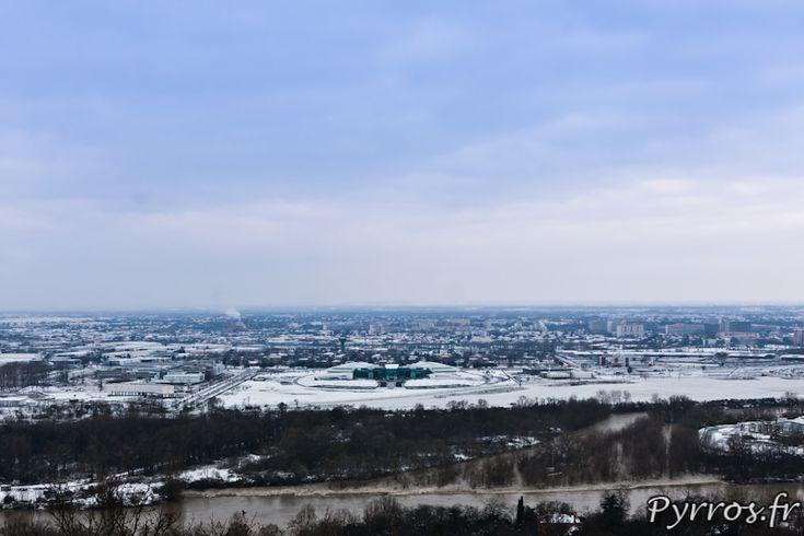 L'oncopole sous la neige - Photo de Pyrros