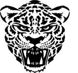 jaguar silhouette and clip art | Jaguar Vector Clip Art vector, free vector images - Vector.me