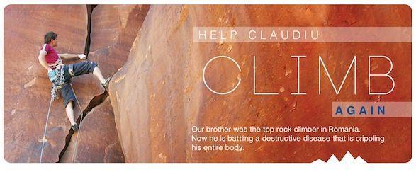 Help Claudiu climb again!