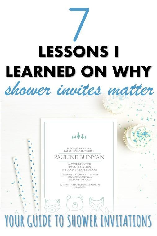 Baby Shower Invitation Etiquette 7 Tips When Planning Your Shower
