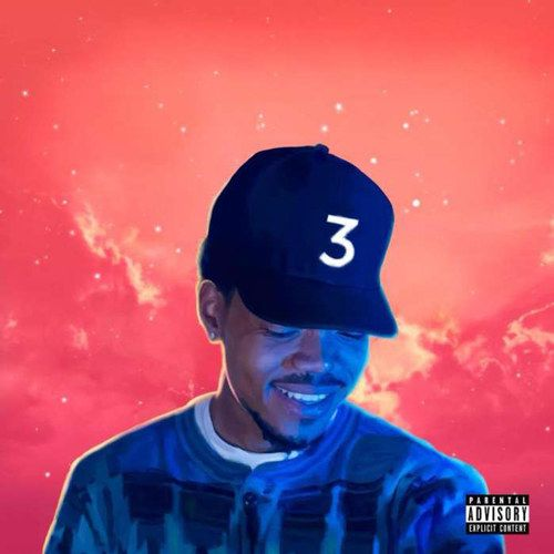 Coloring Book by Chance the Rapper | 100 Album Covers From 2016 That Will Leave You Speechless