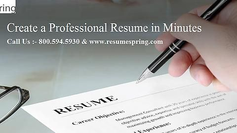 #ResumeSpring is the best and easiest way to create an amazing resume. Best Accounting #Resumes #Design & Creator in San Francisco & surrounding the area.