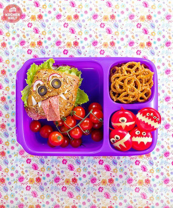 #Bento #Boxen, #Bentobox #Kinder #Lunchbox #Brotdose #coppenrathundwiese #brötchen #funfood #kids