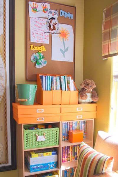 kids playroom organizing ideas