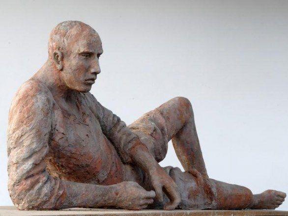 Hanneke Beaumont, la scultrice olandese che vive a Pietrasanta