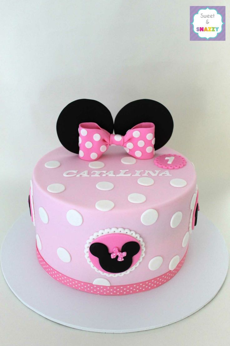 25+ best ideas about Mini Mouse Cake on Pinterest Minnie ...
