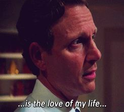 """THIIS IS A BONUS!!!! Fitz in anguish, admits to Cyrus Beene that Olivia is the love of his life.                              """"Fitz to Cyrus Beene: But Liv…is the love of my life…and she won't even talk to me."""""""