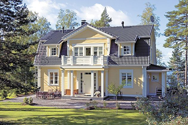 Kannustalo, Finland