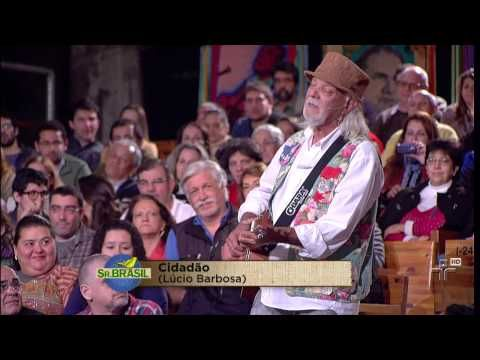 """Zé Geraldo (Rodeiro - MG) """"Meio Matuto"""" (Zé Geraldo). Músicos acompanhantes: Carneiro Sandalo (percussão), Magoo (sanfona), Zeca Loureiro (violão 12 cordas)."""