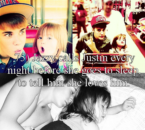 awwwww... dont hate JB because it hurts Jazzy too... do you REALLY want to hurt a little girl?! Are you that disgusting?!