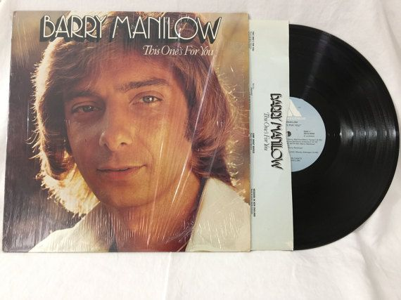 Barry Manilow The One's For You Vintage Vinyl Record Album 33 rpm lp 1976 Arista Records AL 4090 by NostalgiaRocks