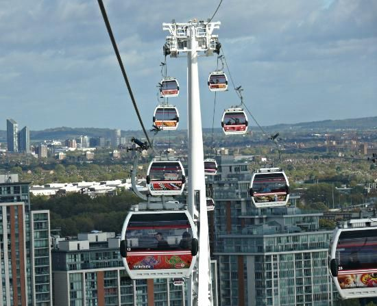 London Thames Cable Car 5 Min Crossing For 4pounds