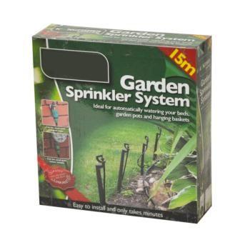 Irrigatie set - sprinkler systeem - 15 meter