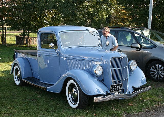1936 Ford Pickup. Love!!