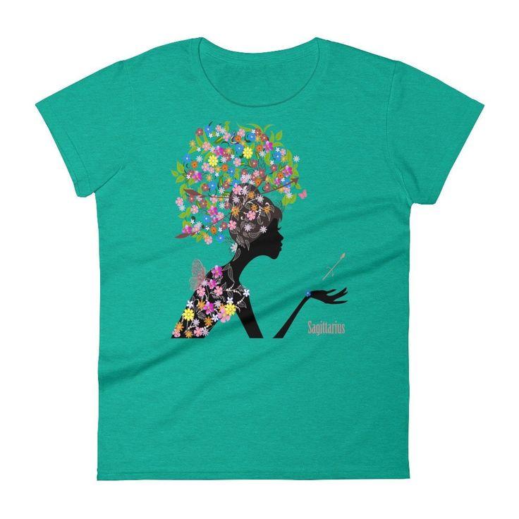 Sagittarian Goddess- Women's short sleeve t-shirt