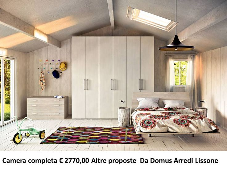 Camera matrimoniale completa a solo Euro 2770,00