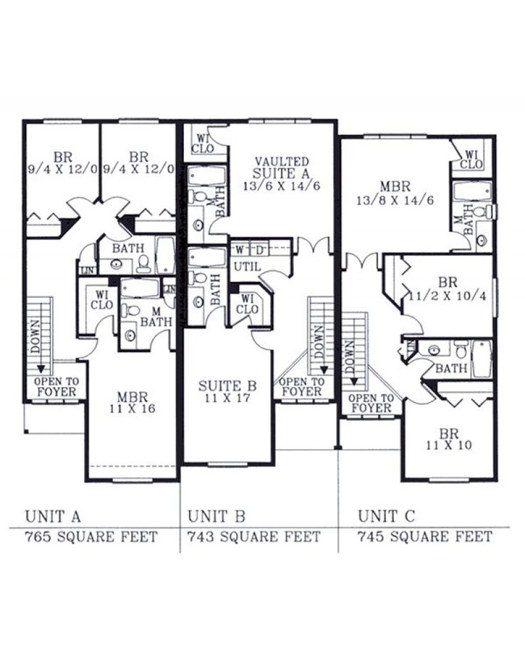 1000 images about duplex on pinterest for Duplex plans canada