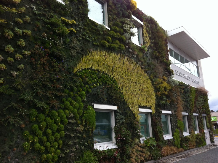 Semiahmoo Library near White Rock, BC Awesome - love the architecture and  living walls!