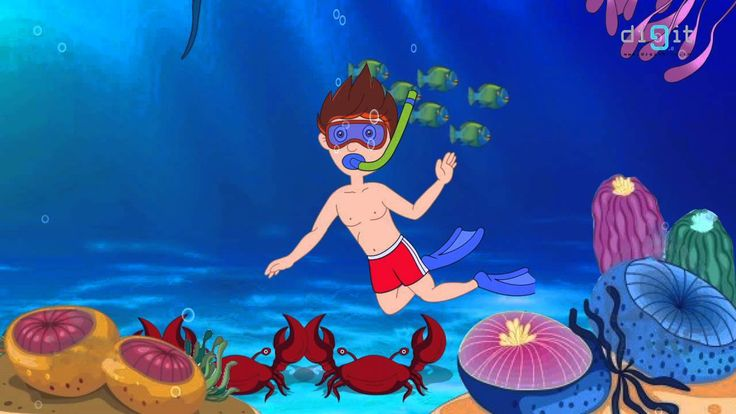 Under The Sea Song For Kids! (+playlist)