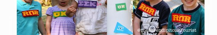 Monsters University fraternity and sorority patches Oozma Kappa, EEK, Roar Omega Roar  The Serendipitous Tourist: A Monsters University 4th Birthday Party