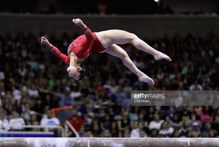 Alexandra Raisman competes on the balance beam during Day 2 of the 2016 U.S. Women's Gymnastics Olympic Trials at SAP Center on July 10, 2016 in San Jose, California.